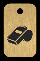 Klíčenka s obrázkem píšťalky