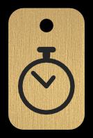 Klíčenka s obrázkem hodin