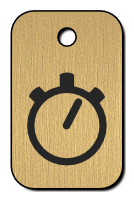 Klíčenka s obrázkem stopek