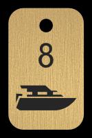 Klíčenka - loď